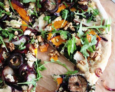vegane Winter Pizza | saisonal