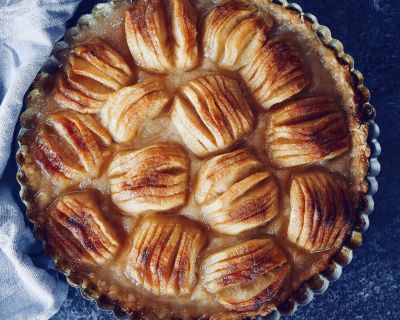 Heavenly Apple Tart * Himmlische Apfeltarte