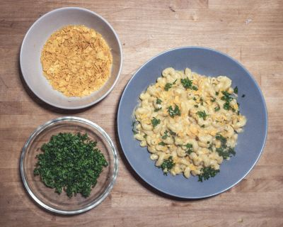 Die perfekten veganen Mac and Cheese