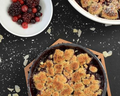 Beerencrumble (vegan)