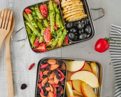 Vegan to go - Vegane Lunchbox Rezepte