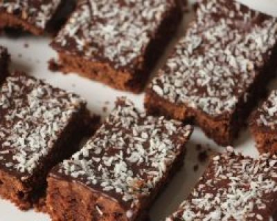 Rezept: Kokos Brownies