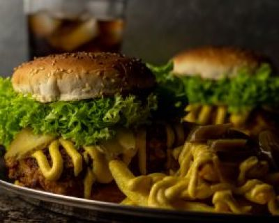 Chicken of the Woods Crunch Burger – mit dem Huhn des Waldes